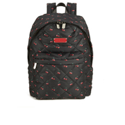 Marc by Marc Jacobs Women's Crosby Quilted Backpack - Cherry Print Black