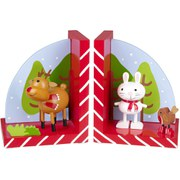Orange Tree Toys Reindeer & Robin Bookends