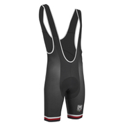 PBK Santini Replica Team Winter Bib Shorts - Red/White/Black