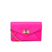 Diane von Furstenberg Women's Gallery Bitsy Small Leather Cross Body Bag - Pink