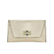 Diane von Furstenberg Women's Gallery Uptown Clutch Bag - Metallic Gold