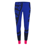 adidas Women's Stella Sport Gym Logo Tights - Blue