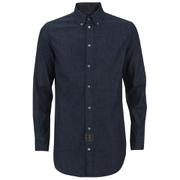 Vivienne Westwood Anglomania Men's Classic Long Sleeve Shirt - Blue Denim