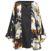 Lavish Alice Women's Abstract Print Floaty Dress - Multi