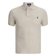 Polo Ralph Lauren Men's Short Sleeve Slim Fit Polo Shirt - Oxford Heather