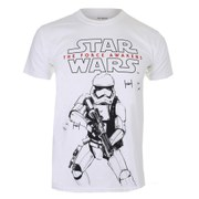 Star Wars Men's Trooper Sketch T-Shirt - White
