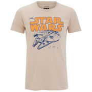 Star Wars Retro Falcon Herren T-Shirt - Braun
