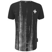 Criminal Damage Mens Mirror T-Shirt - Black