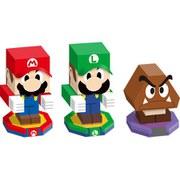 Mario & Luigi: Paper Jam Bros. Papercraft Set