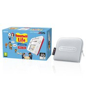 Nintendo 2DS White/Red + Tomodachi Life Pack