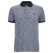 Lyle & Scott Vintage Men's Oxford Slub Pique Polo Shirt - Navy