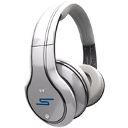 SMS Audio SYNC By 50 Cent Over-Ear Bluetooth Noise Cancellation Headphones - White