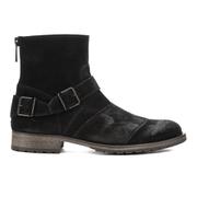 Belstaff Men's Trialmaster Leather Short Boots - Black