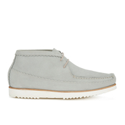 Genuine Moccasins by Grenson Men's Suede Chukka Boots - Light Grey