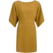 VILA Women's Macu Tie Dress - Amber Green
