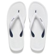 Polo Ralph Lauren Men's Whittlebury Flip Flops - White/ Newport Navy