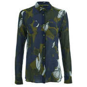 Paul by Paul Smith Women's Floral Twisted Shirt - Multi