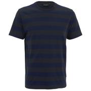 Paul Smith Jeans Men's Stripe Jersey T-Shirt - Navy