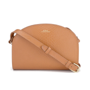 A.P.C. Women's Half Moon Bag - Caramel