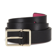 Paul Smith Accessories Women's Leather Contrast Belt - Black