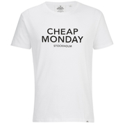 Cheap Monday Men's Standard Logo T-Shirt - White