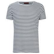 HUGO Men's Dhoenix Striped T-Shirt - White
