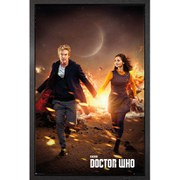 Doctor Who Run - Framed Maxi Poster