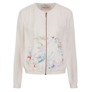 BOSS Orange Women's Ocupette Printed Bomber Jacket - Pastel Pink