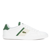Lacoste Men's Fairlead 116 1 Leather Trainers - White
