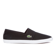 Lacoste Men's Marice Canvas Slip On Pumps - Black