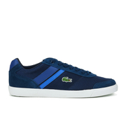 Lacoste Men's Comba 116 1 Textile/Suede Trainers - Navy
