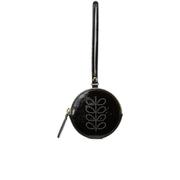 Orla Kiely Women's Round Hanging Purse - Black