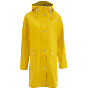 Ilse Jacobsen Women's Patch Pocket Raincoat - Cyber Yellow