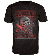 Star Wars The Force Awakens Kylo Ren Poster Pop! T-Shirt - Black