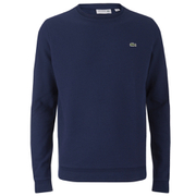Lacoste Men's Brushed Pique Sweatshirt - Navy