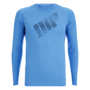 Myprotein Mens Mobility Long Sleeve Top – Blue