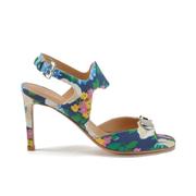 Carven Women's High Floral Sandals - Multi