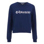 Carven Women's Logo Sweatshirt - Navy
