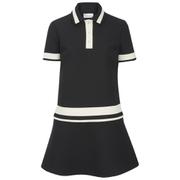 REDValentino Women's Contrast Collar Dress - Black