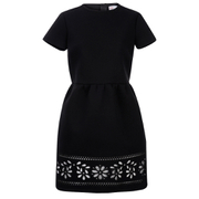 REDValentino Women's Cut Out Detail Dress - Black