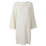 Helmut Lang Women's Satin Back Crepe Scoop Tunic Dress - Ivory
