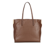 Coccinelle Women's New Sophie Leather Tote Bag - Dark Brown