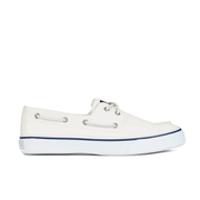 Sperry Men's Bahama 2 Eye Boat Shoes - White