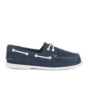 Sperry Men's A/O 2-Eye Washable Leather Boat Shoes - Navy