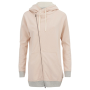 Maison Scotch Women's Home Alone Oversized Zip Through Twisted Hoodie - Multi