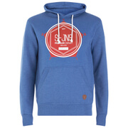 Smith & Jones Men's Tavistock Hoody - True Blue Marl