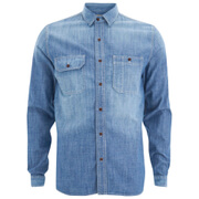 Barbour X Steve McQueen Men's Chadwick Shirt - Stone Wash