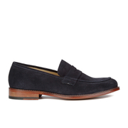 Paul Smith Shoes Men's Gifford Suede Loafers - Navy Suede