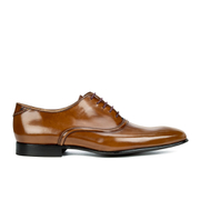 Paul Smith Shoes Men's Starling Leather Oxford Shoes - Tan High Shine