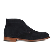 Paul Smith Shoes Men's Morgan Suede Desert Boots - Bleu Suede